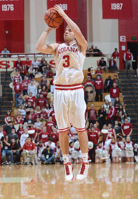 Marlin played with Ferrell at IU for two seasons.  (Photo courtesy of IU Athletic Department)