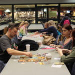 Family game night took place in the Student Center commons on Friday evening.