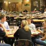 Families enjoyed brunch in Baldwin dining hall Sunday morning, as well as a banquet dinner the night before.